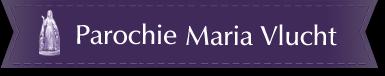 Logo Parochie Maria Vlucht